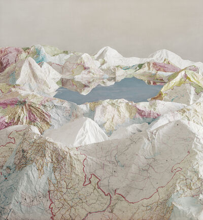 Ji Zhou, 'The Map', 2017