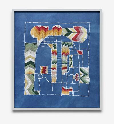 Shannon Bool, 'Villa Savoye: Three Floors Combined', 2020