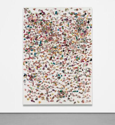 Dan Colen, 'Great Big Kiss', 2010