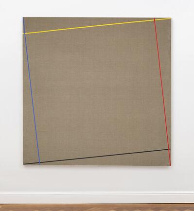 Winfred Gaul, 'Markierungen XVIII', 1973