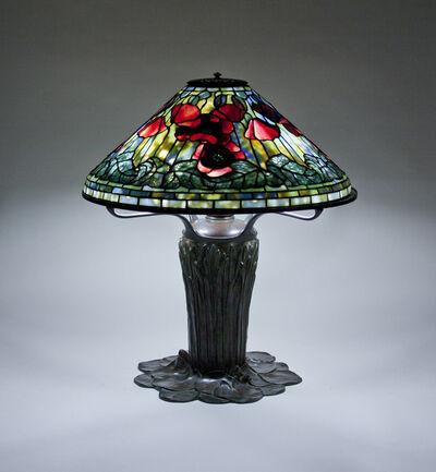 Tiffany Studios, 'Poppy Table Lamp', ca. 1906