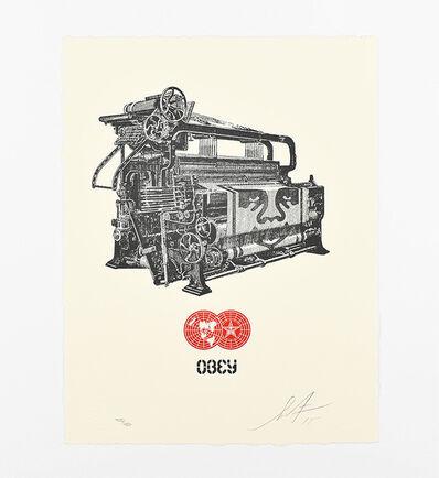 Shepard Fairey, 'Obey Loom Letterpress', 2015