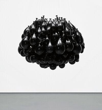 Michel François, 'Souffles dans le verre - Noir', 2002