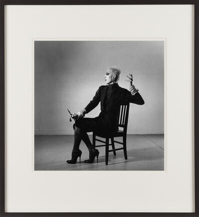 Peter Hujar, 'Ethyl Eichelberger in a Fashion Pose', 1981