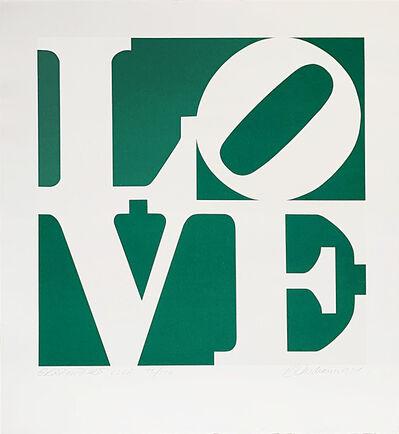 Robert Indiana, 'Greenpeace LOVE ', 1994