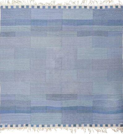 Marianne Richter, 'Square Vintage Marta Maas Swedish Kilim Rug by Marianne Richter', ca. 1950