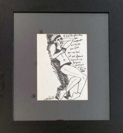 Robert Combas, 'C'est le plus beau des croquis...', 2010