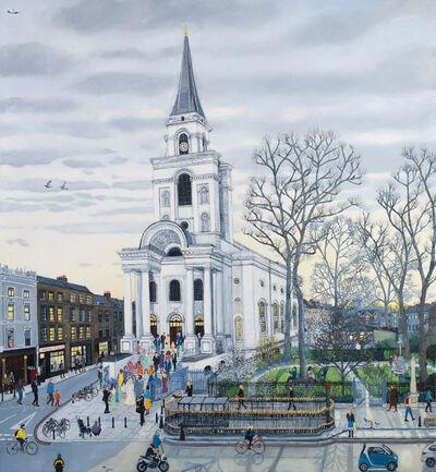 Emma Haworth, 'Faith, Hope and Love, Spitalfields', 2020