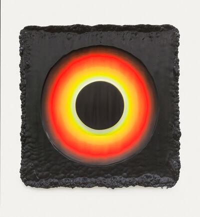 Jeremy Hof, 'Fluorescent Ring on Purple,', 2014