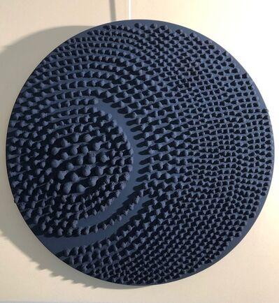 Jane Puylagarde, 'Round Blue', 2019