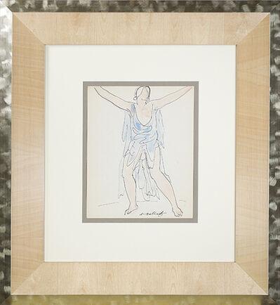 Abraham Walkowitz, 'Isadora Duncan (Blue)', ca. 1920