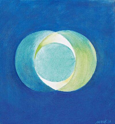 Heinz Mack, 'Sonne u. Mond', 1996