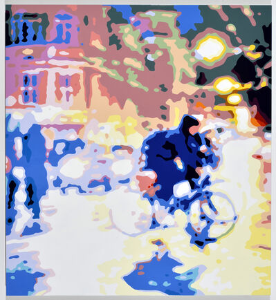 Konrad Winter, 'Radfahrer', 2021