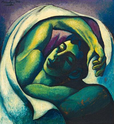 Johannes Meintjes, 'Sleeping Young Man', 1962