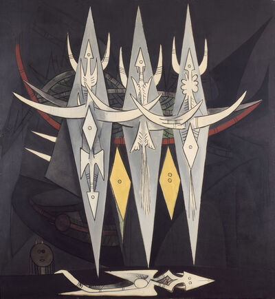 Wifredo Lam, 'Umbral (Seuil) ', 1950
