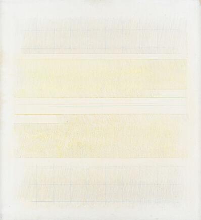 Riccardo Guarneri, 'Due strisce con giallo (e con riquadri)', 1974