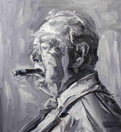 Paul Wright, 'Churchill (Profile)', 2017