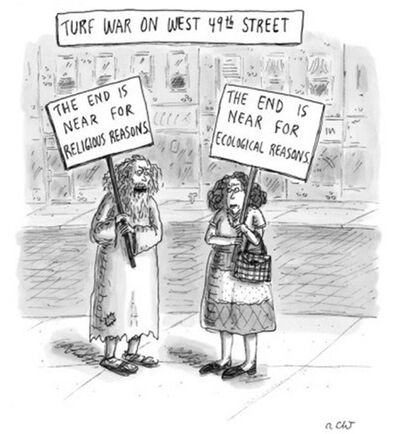Roz Chast, 'Turf War On West 49th Street ', 2006