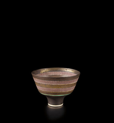Lucie Rie, 'Footed bowl', 1985