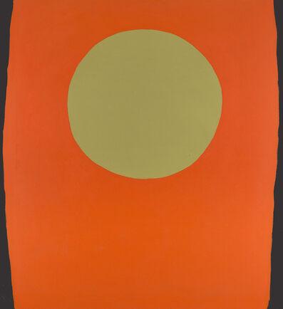 Walter Darby Bannard, 'Orange Blacksides', 1959