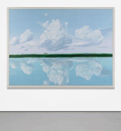 Tomás Sánchez, 'Orilla: Espejo de las Nubes', 1988