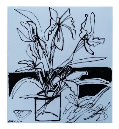 America Martin, 'Tall Iris in Vase', 2019