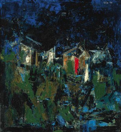S. H. Raza, 'Untitled (Paysage)', 1958