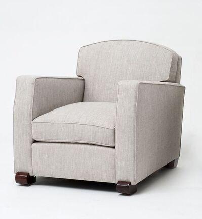 Maison Leleu, 'A Pair of Club Chairs', 1946