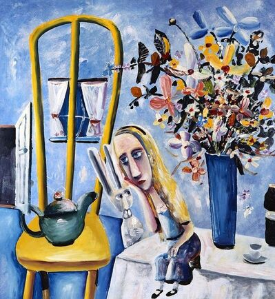 Charles Blackman, 'Alice on the Table', 1956