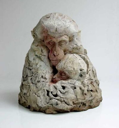 Nichola Theakston, 'Macaque and I', 2020
