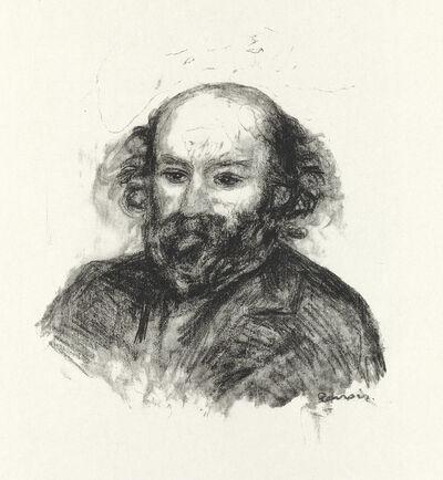 Pierre-Auguste Renoir, 'Paul Cézanne', 1902