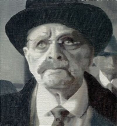 Miguel Aguirre, 'Theodore Roosevelt', 2014