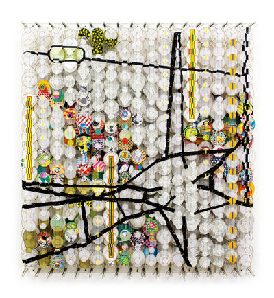 Jacob Hashimoto, 'The Quiet Center of All Thoughts Never Known', 2016