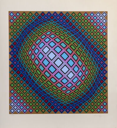 Victor Vasarely, 'Ferde', ca. 1980