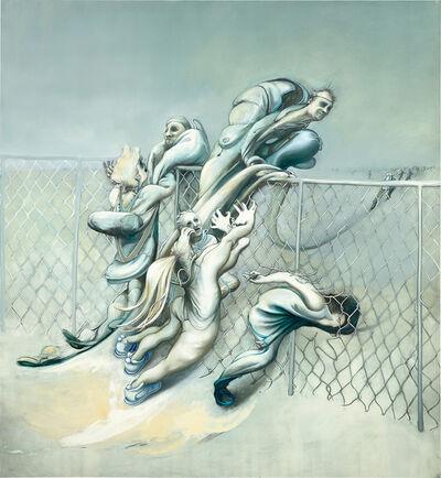 Inka Essenhigh, 'Chainlink Fence', 2004