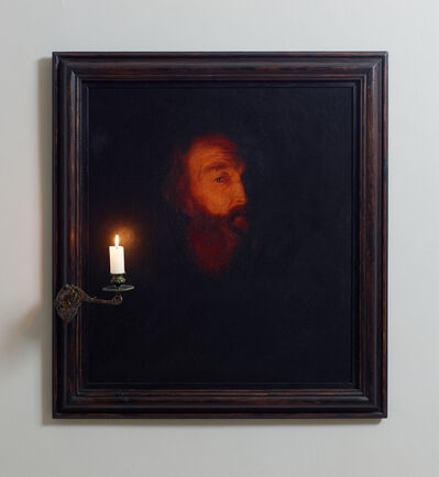 Nancy Fouts, 'Man with Candle (after Godfried Schalcken)', 2013