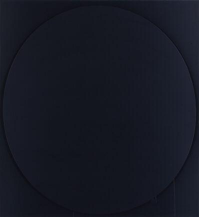 Ian Davenport, 'Ovals: black', 2002
