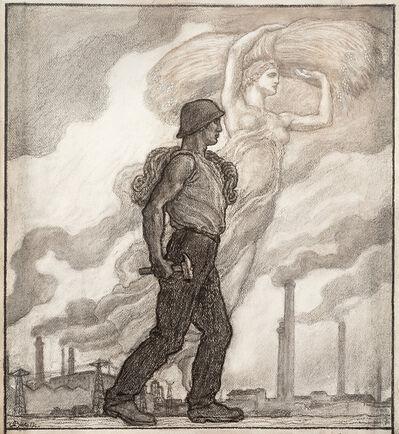 Leonardo Bistolfi, 'Allegoria del lavoro'
