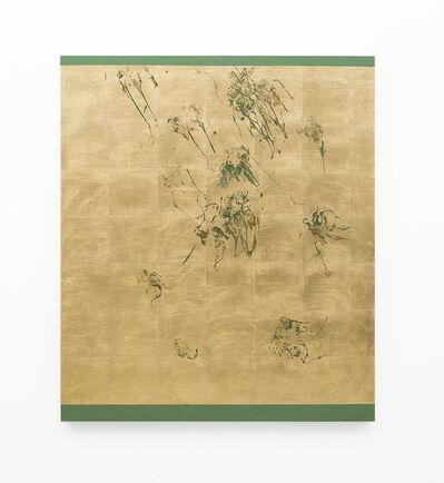 Pierre Vermeulen, 'Hair orchid sweat print, green scape', 2018