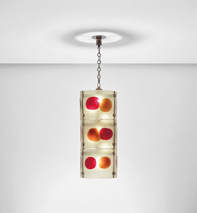 Venini, 'Ceiling light, from the 'Cheerio' series', circa 1970