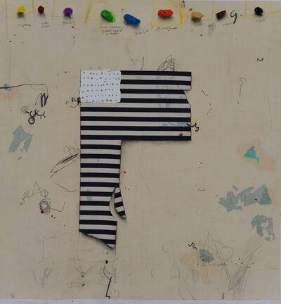 Cole Morgan, 'Stripes-2', 2013
