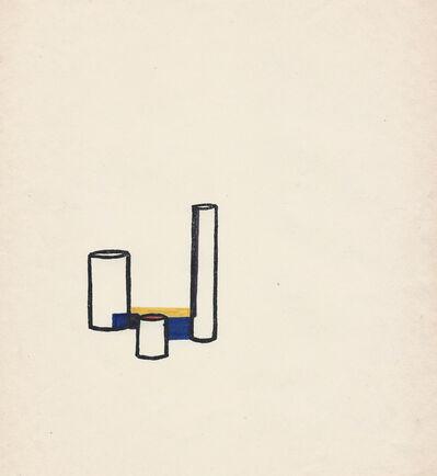 Mathias Goeritz, 'Tarjeta de felicitación', 1967