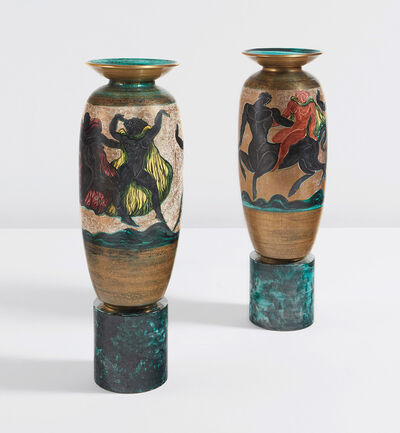 Jean Mayodon, 'Pair of large urns', 1951