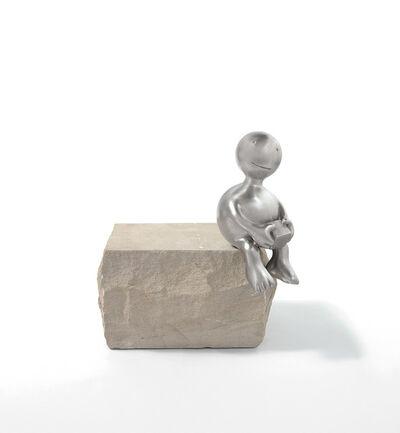 Tom Otterness, 'Sphere Holding Cube', 2014