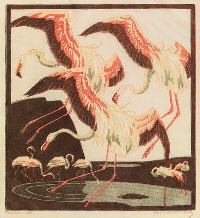 Norbertine Bresslern-Roth, 'Flamingos IV', 1927