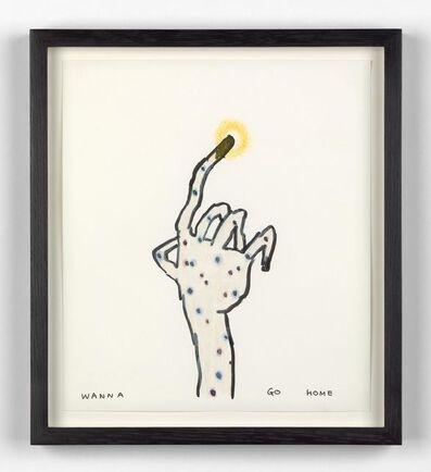 Yoshitomo Nara, 'Untitled (Wanna Go Home)', 2002