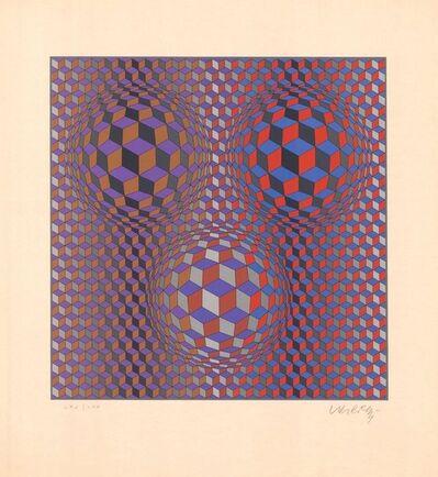 Victor Vasarely, 'Konjunktion (2)', 1987