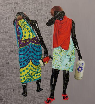 Eddy Kamuanga Ilunga, 'Mémoire Fragile 2', 2020