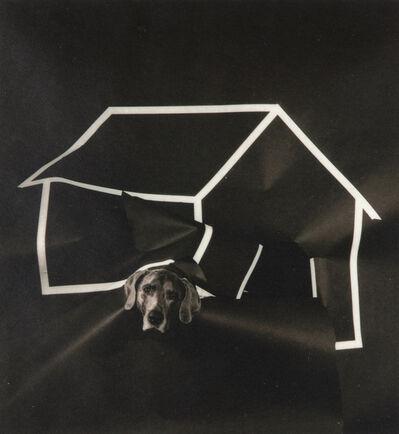 William Wegman, 'Dog House (From Man Ray: A Portfolio of 10 Photographs)', 1982
