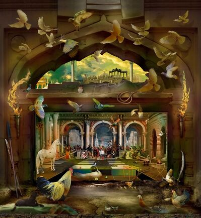 Ranbir Kaleka, 'Raja Ravi Verma in the house of Levi', 2018